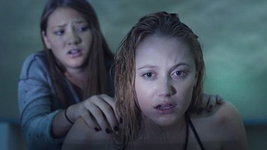 Touched: Maiko Monroe in David Robert Mitchell's indie horror hit It Follows.
