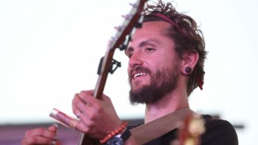 John Butler headlined the latest Peats Ridge festival.