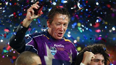 """""""Suffice to say that it is an important decision for both parties and we would like Craig [Bellamy] to be the coach"""" ... Storm chief executive Ron Gauci."""