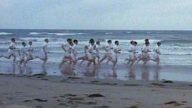 Iconic ... the famous opening scene of Chariots of Fire, now a musical.