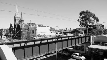 Hawthorn's Glenferrie is nominated in the report as one of the city's most successful elevated railway stations, because it integrates well with the street below.