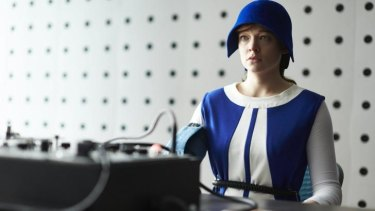 Sarah Snook in <i>Predestination.</i>