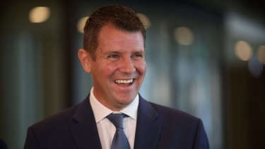 NSW Premier Mike Baird says the government does not intend to overturn a ban on property developers making political donations