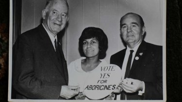 Ms Peisley campaigning in 1967.