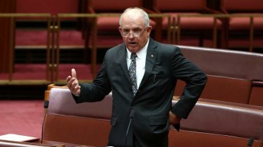"""""""Anyone who is robbing with a pen needs to be looked at"""": Senator John Williams."""