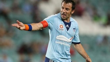 Alessandro Del Piero with the offending armband.