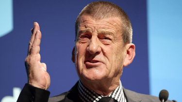 Jeff Kennett has kept a high public profile since being voted out of office in 1999.