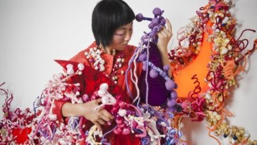 """Creative spirit: Hiromi Tango used memories, diaries, letters and works to create """"Dust Storm""""."""