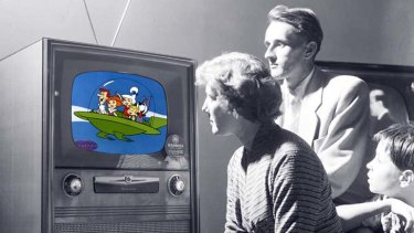 """""""The televison can not be a proper conversation piece since it leaves talk stilted and half-heard""""."""
