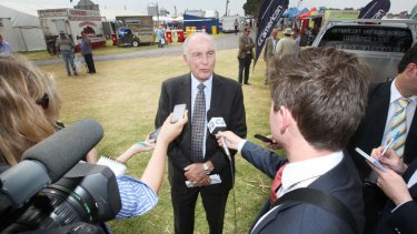 ''We have said that we will be making some tough decisions in order to achieve $2 billion in cost savings over the next three year'': Transport Minister Warren Truss.