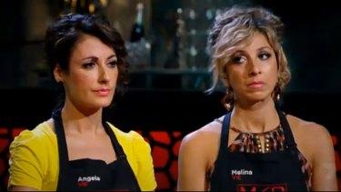 Angela and Melina are facing the chopping block.