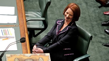 Prime Minister Julia Gillard says the facts support her carbon plan.