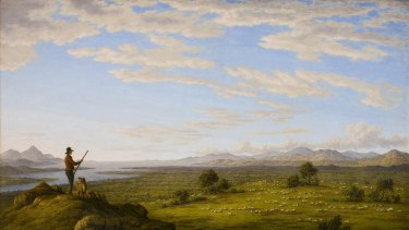Landscapes by artists such as John Glover depict the ''park-like'' Australia described by early settlers.
