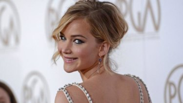 Rosie future ... Jennifer Lawrence will play the lead in the film adaptation of Graeme Simsion's book.