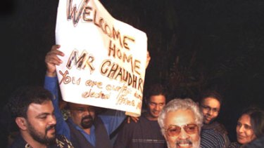Mahendra Chaudhry ... after his release in 2000.