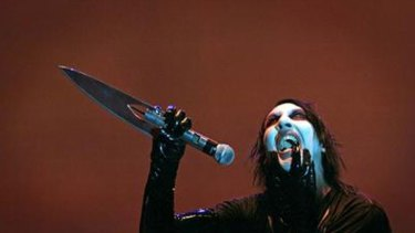 Marilyn Manson will bring his freaky show to the Soundwave stage.