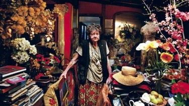 Treasure trove:  Margaret Olley in her Paddington home.