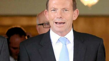 """""""The important thing is to ensure that we maximise access to universities"""": Tony Abbott."""