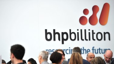 """""""Billiton"""" is to be excised from the BHP logo."""