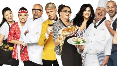 The restaurateur contestants on Channel Nine's <i>The Hotplate</i>, which Seven alleges is a rip-off of <i>My Kitchen Rules</i>.