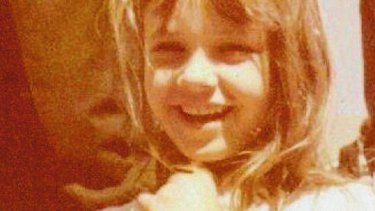 Bute as a cutton … Forsyth in 1972, aged six.