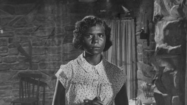Ngaria Kunoth, or Rosalie Kunoth-Monks in the role of Jedda in 1955.
