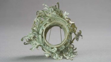 Money on the mind ... brooch by Lauren Tickle.