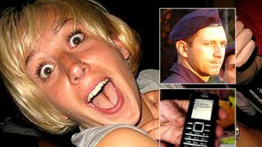 Britt Lapthorne, a Croatian police officer, and the text from the hostel owners' son.