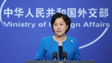 Chinese Foreign Ministry Spokesperson Hua Chunying said China opposes interference by foreign countries.