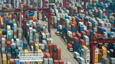 China's export volumes exceeded expectations in January.