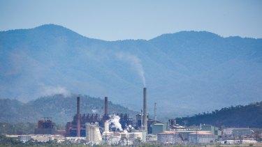 Clive Palmer's Queensland Nickel refinery.