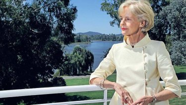 """Quentin Bryce: """"I believe that in certain circumstances quotas are a valid measure."""""""