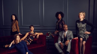 The cast of The Good Fight.