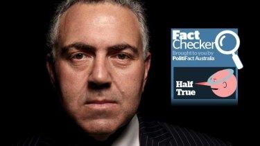 Fact Checker - Joe Hockey