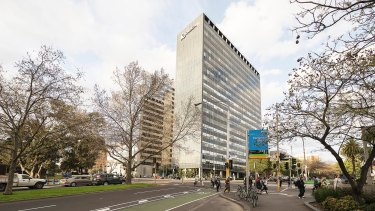 The Orica building at 1 Nicholson Street, Melbourne.