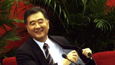 Contradictions … the liberal Wang Yang, the Communist Party boss of Guangdong province.