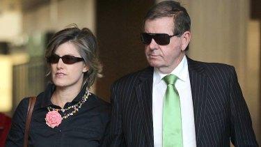 Peter Slipper and his wife Inge Jane-Hall Slipper.