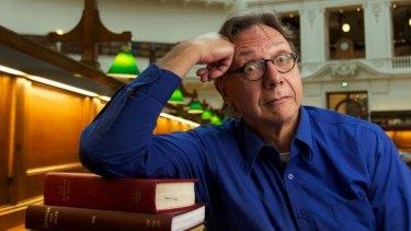 A stalwart of the Text Publishing list, Shane Maloney, author of <i>Stiff</i>.