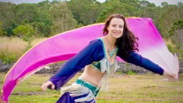 Charni has introduced belly dancing to more than 5000 over the internet.