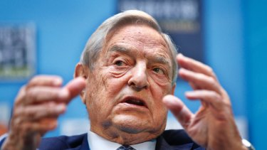 Billionaire George Soros has sent some dire warnings to the EU in a speech in Paris.