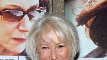 Star quality: Helen Mirren at The Debt screening.
