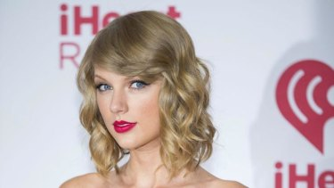 Drastically different: Pop star Taylor Swift does not look like this in her latest magazine cover shoot.