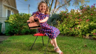 Annabel Parker's battle with juvenile arthritis is now controlled by specific treatment.