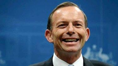 Hopeful: Tony Abbott.