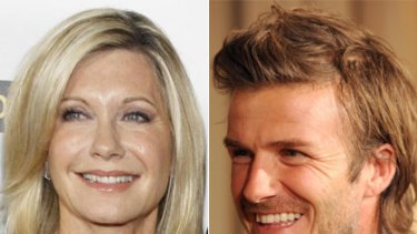 Fad? Fact? ... Olivia Newton-John and David Beckham.