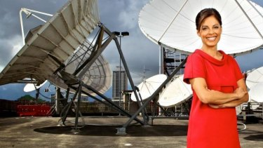 Anjali Rao, presenter of <i>Dateline</i> on SBS. The program faces an uncertain future
