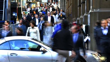 Jobs ... are fading faster in the traditionally wealthy white-collar suburbs of Sydney rather than NSW generally.