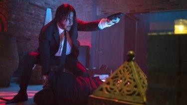Rough stuff: Keanu Reeves in <i>John Wick</i>.