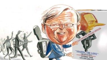 Popular ... Kevin Rudd.