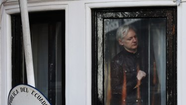 Julian Assange has been holed up in the Ecuadorean embassy for almost six years to avoid being extradited to the US.